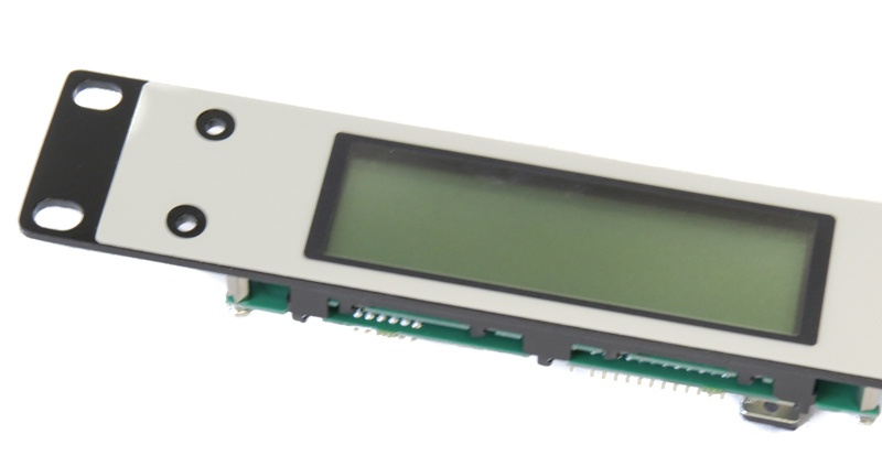 LCD Paired with Ruggedized Front Panel