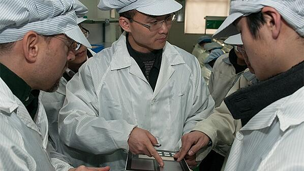 Audit of Manufacturing Facility in China