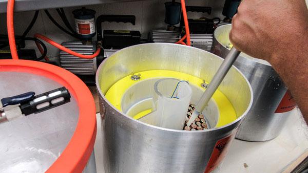 Battery Potting Process