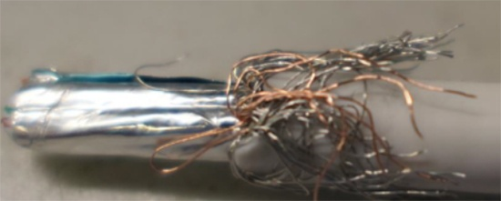 Bulk Cable Without Adequate Braid Coverage