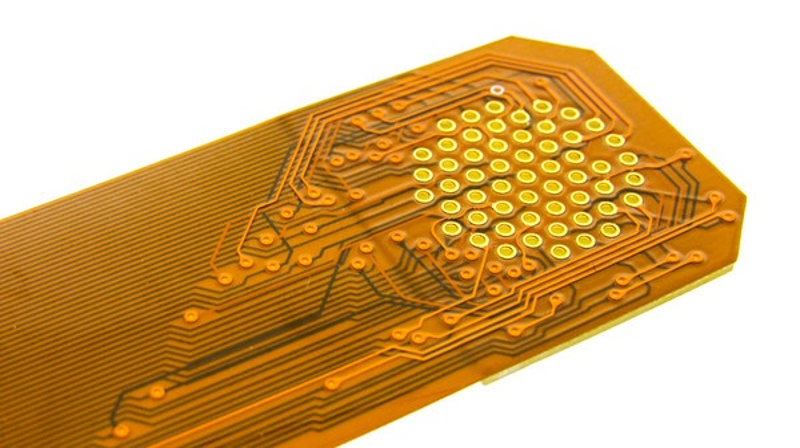 Custom Manufactured Flexible Circuit Board