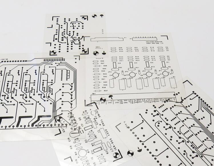 Diazo Printed Circuit Board Film