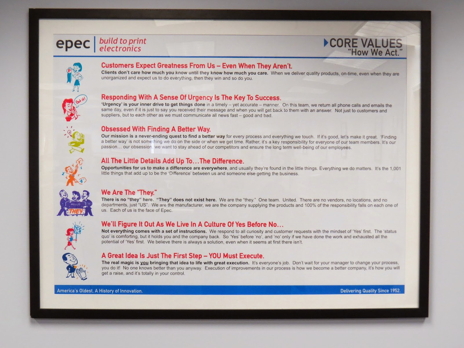 Epec Engineered Technologies Core Values