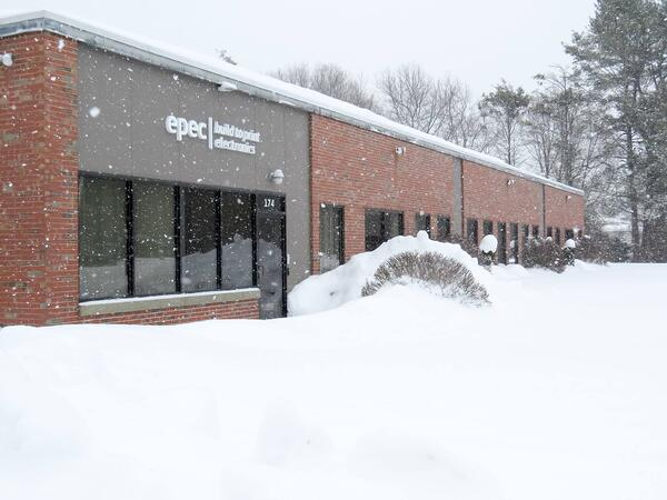 Epec Headquarters Covered in Snow