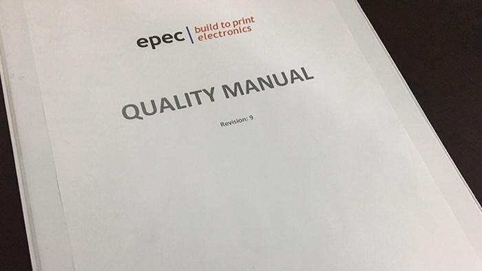 Epec Quality Manual