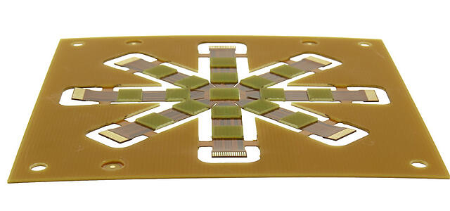 Flexible PCB With Stiffeners