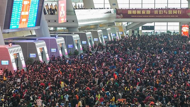 Hong Kong Airport During Asian Holidays