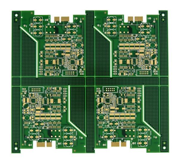 Odd Shaped Circuit Board Scored in Array