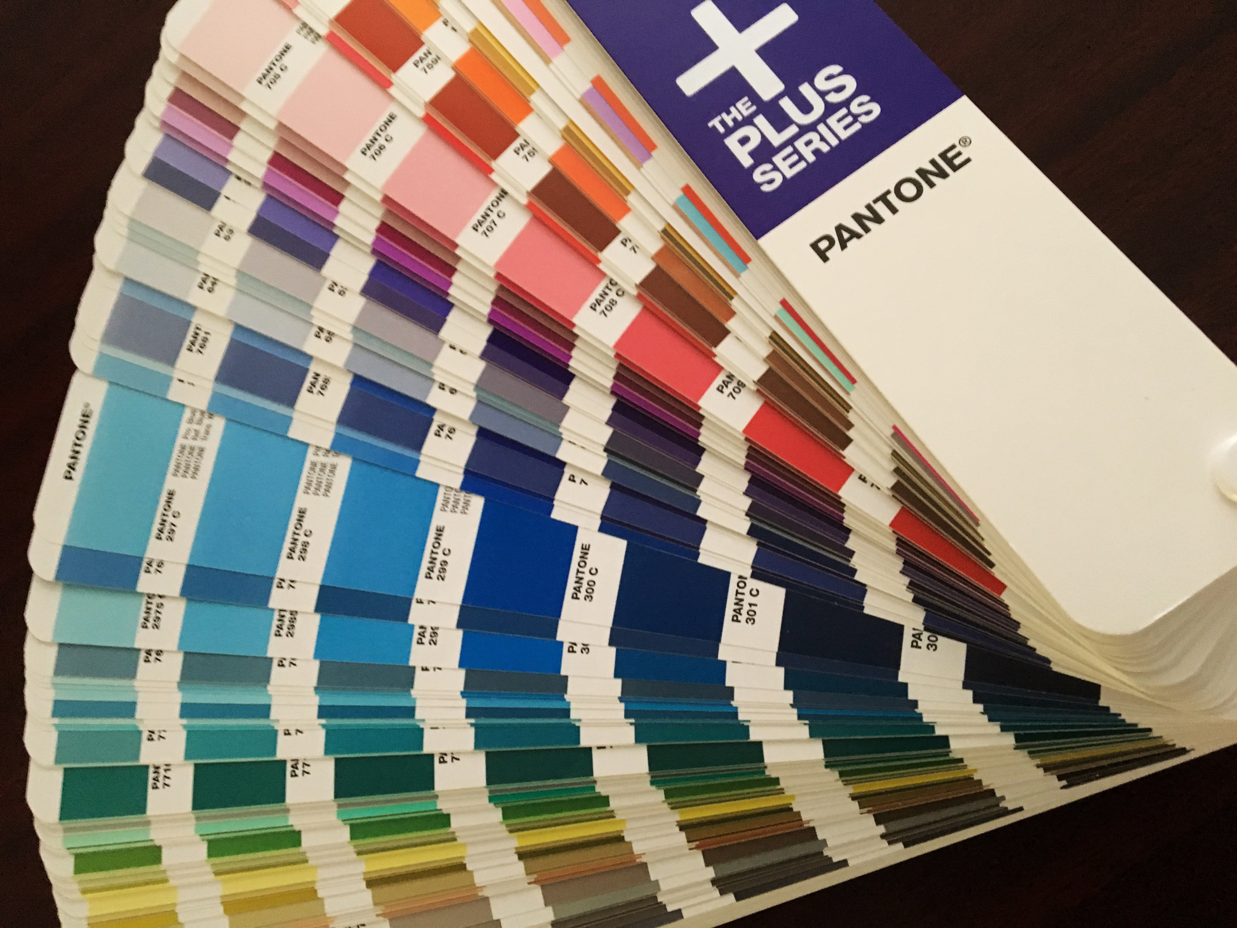 Example of Pantone Color Book