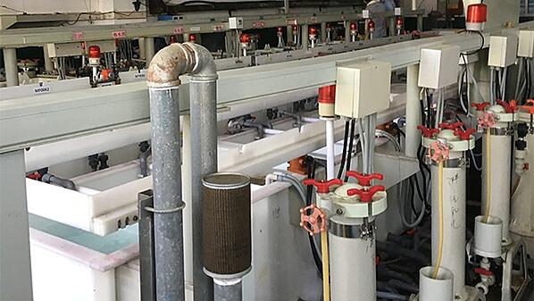 PCB Cleaning Line During ENEPIG Process