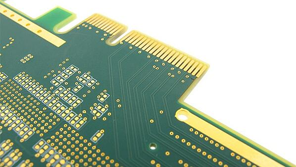 PCB Manufactured with Gold Fingers