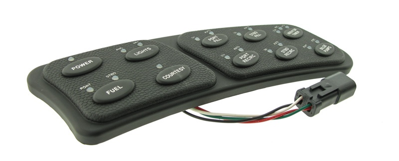 Rubber Keypad for Marine Application