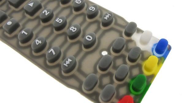Silicone Elastomer Keypads