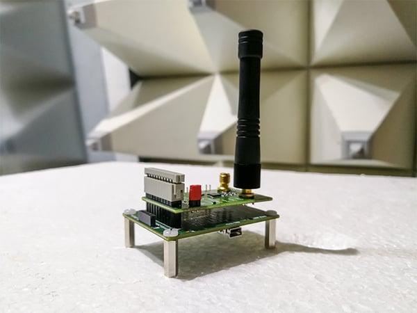 Typical Radiated Emissions Test Setup