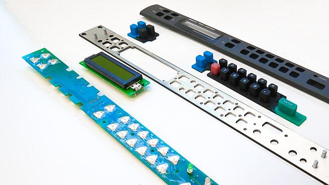 Various Components of a User Interfaces Assembly