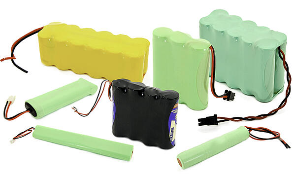 Example of various custom battery packs