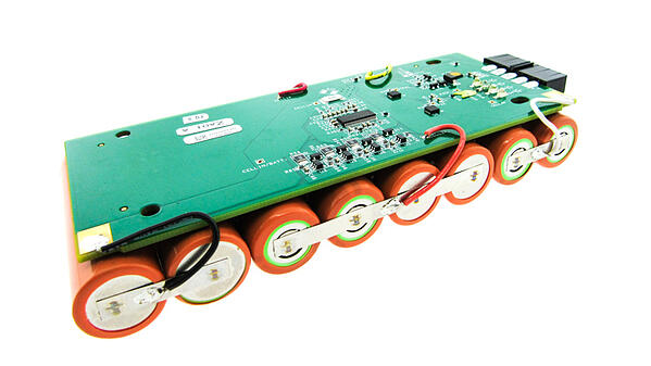 Battery pack with integrated management system.