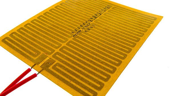 Example of a Polyimide / Kapton® flexible heater