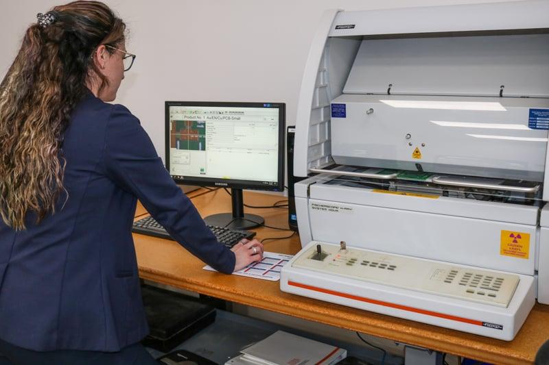 Fischer scope x ray machine