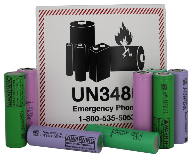 Lithium battery shipping requirements