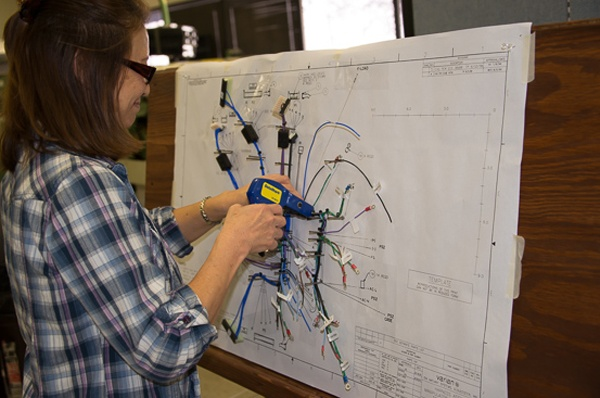 wire harness automation wiring diagram general Auto Wire Harness