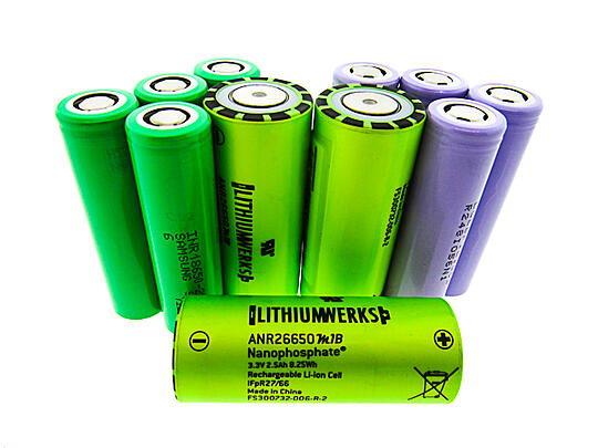 Cylindrical Lithium Batteries