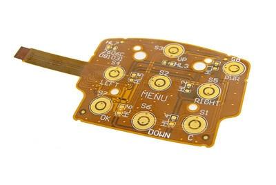 Flex Circuit Board Style User Interface Assemblies