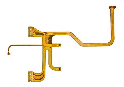 Flexible Circuit Board with Multiple Interconnects