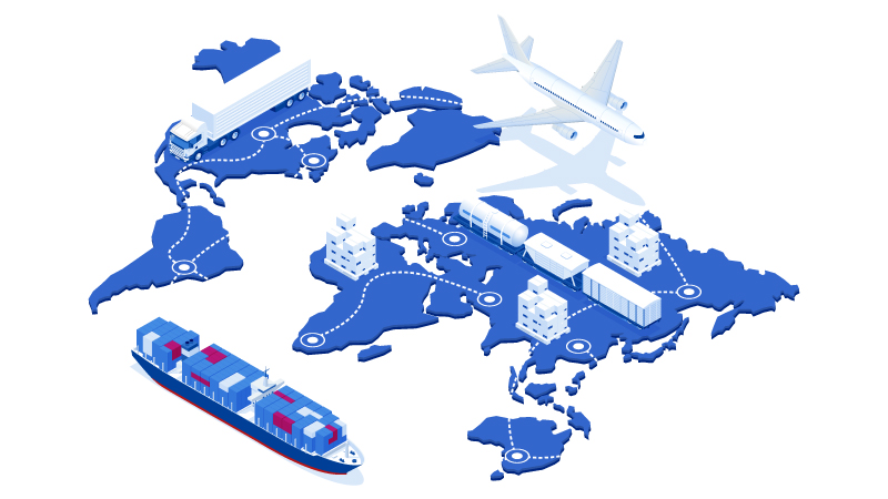 Logistics plays a major role in today's global economy