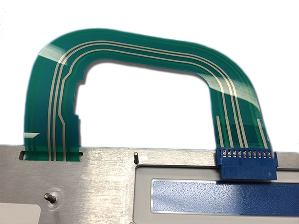 Membrane Switch Tail Illustrating Bend Radius
