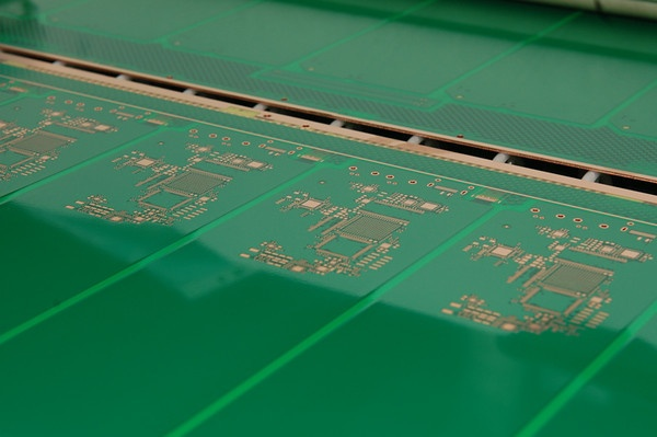 Circuit Board During Manufacturing Process