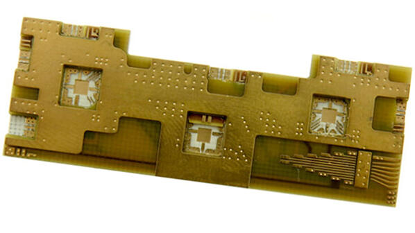 Printed circuit board with plated cavity