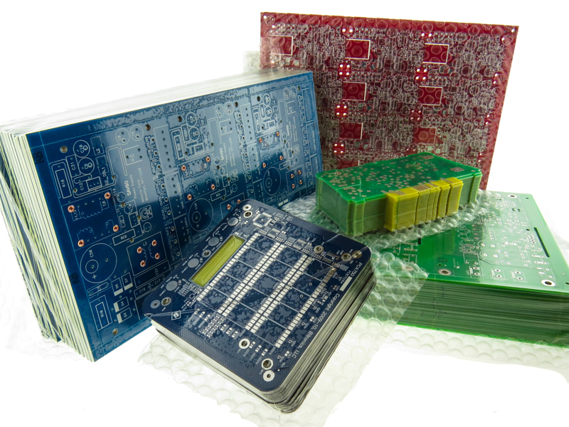 PCBs with different solder mask colors